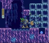 Mega Man X2 SNES Energen Crystal: Using the battle armor to get to a 1up