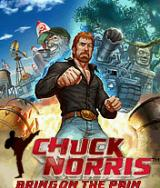 Chuck Norris: Bring on the Pain J2ME Title screen