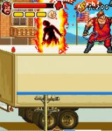 Chuck Norris: Bring on the Pain J2ME Fighting a boss on top of a truck.