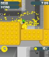 de Blob J2ME A lot of yellow in this area