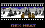 Red Heat Commodore 64 Later in the first level. The Red heat logo turns red and yellow as you advance.