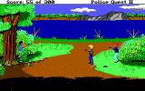 Police Quest 2: The Vengeance DOS Police vs Jesse Bains