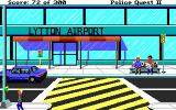 Police Quest 2: The Vengeance DOS Lytton airport entrance