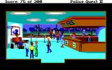 Police Quest 2: The Vengeance DOS Inside Lytton airport