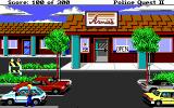 Police Quest 2: The Vengeance DOS Outside Arnie's