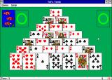 Microsoft Entertainment Pack 2 Windows 3.x Tut's Tomb. Just another solitaire.