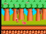 Adventure Island NES Jumping over an enemy