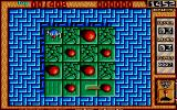 Bombuzal Atari ST 2D view of a level