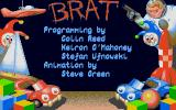 Brat Atari ST Credits screen