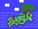 Adventure Island II NES Area map