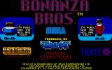 Bonanza Bros. Atari ST Title screen