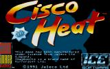Cisco Heat: All American Police Car Race Atari ST Second title screen