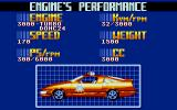 Cisco Heat: All American Police Car Race Atari ST One of the cars