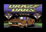 Crazy Cars Commodore 64 Title screen