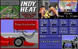 Danny Sullivan's Indy Heat Atari ST Buying power-ups before a race