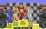 Danny Sullivan's Indy Heat Atari ST Fourth place isn't that bad... really...
