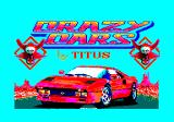 Crazy Cars Amstrad CPC Title screen