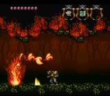 Demon's Crest SNES Boss-fight: Flame Lord