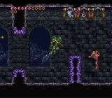 Demon's Crest SNES Underwater, the controls are completely different, don't swim into the spikes.