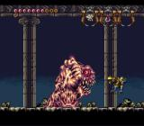 Demon's Crest SNES Boss-fight: Crawler
