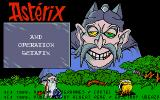 Asterix: Operation Getafix Atari ST Title screen