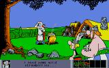 Asterix: Operation Getafix Atari ST Getafix hard at work