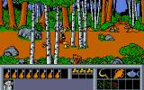 Asterix: Operation Getafix Atari ST Walking in the woods.
