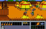Asterix: Operation Getafix Atari ST Trying to enter the roman encampment.