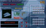 Armour-Geddon Atari ST R & D screen