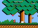 Adventure Island 3 NES Eggs everywhere. Each egg contains a different useful item.