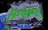 Alien Storm Atari ST Title screen