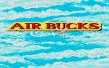 Air Bucks Atari ST Title screen