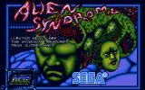 Alien Syndrome Atari ST Second title screen
