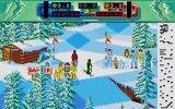 Professional Ski Simulator Atari ST Level one