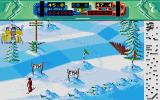 Professional Ski Simulator Atari ST I made it to the finish