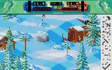 Professional Ski Simulator Atari ST Ouch! That's got to hurt.