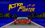 Action Fighter Atari ST Title screen