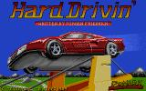 Hard Drivin' Atari ST Title screen