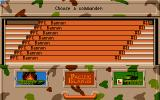 Pacific Islands Atari ST Select your player