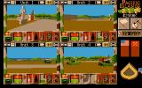 Pacific Islands Atari ST The view from all of your four tanks