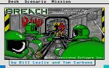 Breach Atari ST Title screen