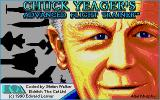 Chuck Yeager's Advanced Flight Trainer 2.0 Atari ST Title screen