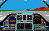 Chuck Yeager's Advanced Flight Trainer 2.0 Atari ST Ready to take off