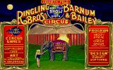Circus Games Atari ST Title screen