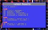 Championship Manager Atari ST The results are in