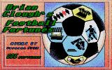 Brian Clough's Football Fortunes Atari ST Title screen