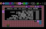 Boulder Dash Construction Kit Atari ST Setting the preferences of the level