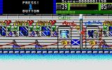 Beast Busters Atari ST That's a colorful train