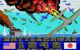 Battlehawks 1942 Atari ST Title screen