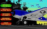 Battlehawks 1942 Atari ST Main menu